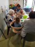 Rencontres intergénérationnelles à la maison de retraite Sainte Victoire